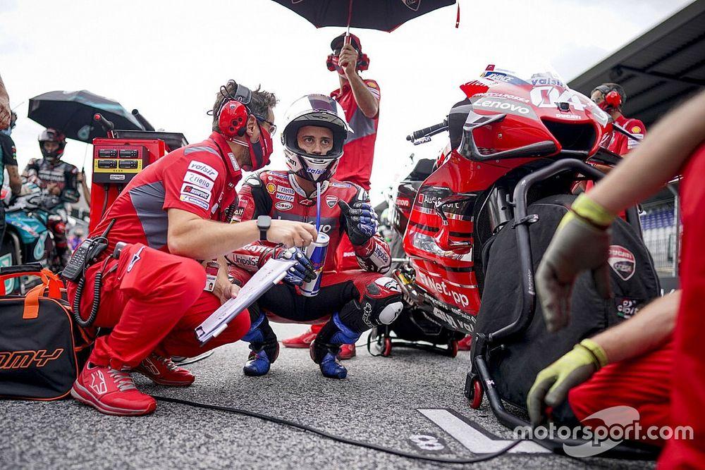 Michelin répond à Dovizioso: pas d'anomalie, une erreur de pression