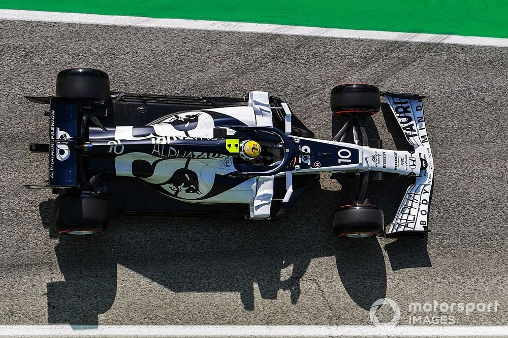 Gasly, sıralamadaki dördüncülüğü Senna'ya adadı