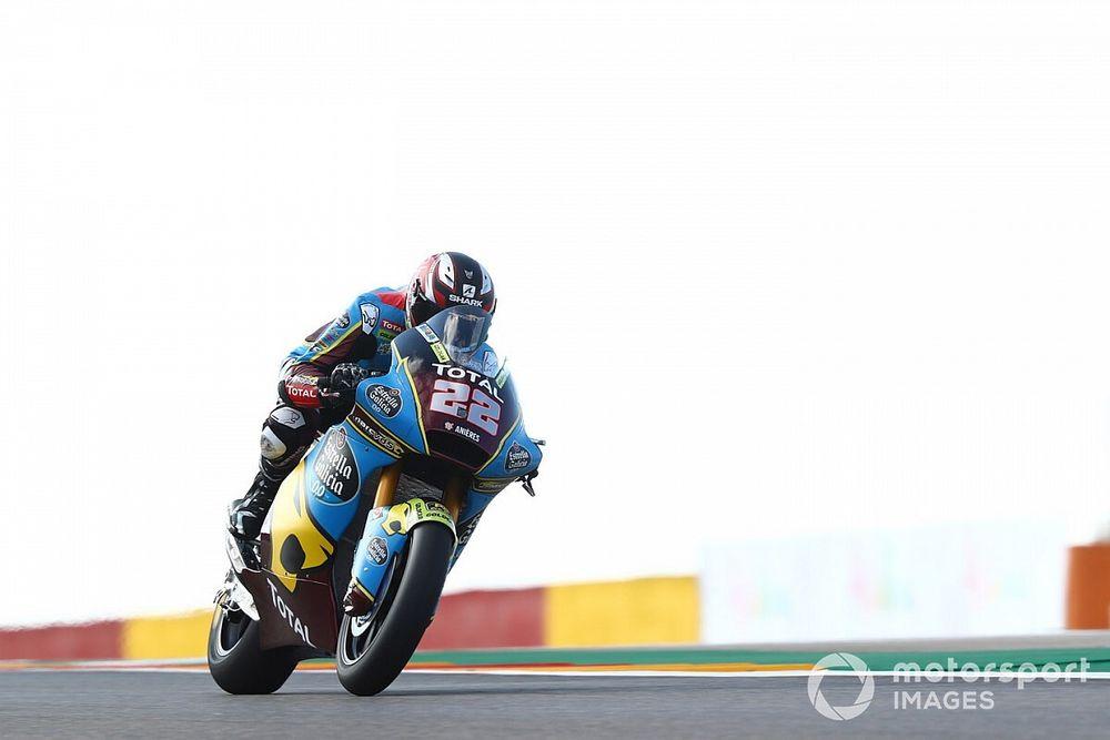 Moto2: pole con récord de Lowes en Aragón