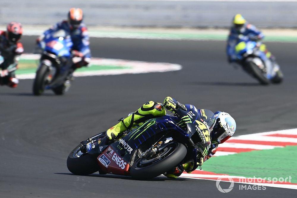 Rossi déçu de manquer le podium mais ravi pour ses pilotes