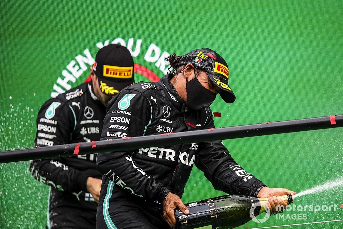 TABELA F1: Hamilton dispara na liderança e mudanças pelo quarto lugar