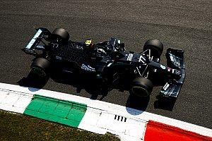 EL1 - Bottas et Mercedes nettement devant, Verstappen casse un aileron