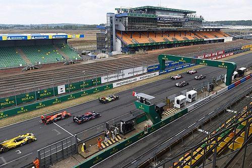 2020 Le Mans 24 Saat - 8. Saat: #7 Toyota lider, #8 Toyota 2 tur geride