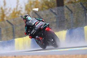 Fotogallery MotoGP: pioggia padrona nelle libere di Le Mans