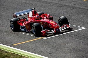 Il y avait un Schumacher dans la Ferrari F2004 au Mugello