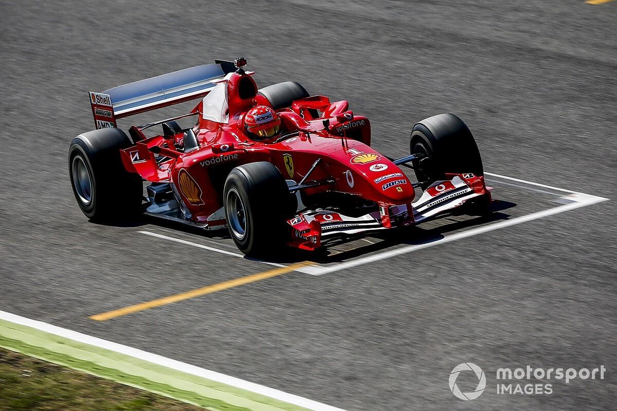 Zene a füleknek - így szól az F2004 Mick Schumacherrel a volánnál! (videó)