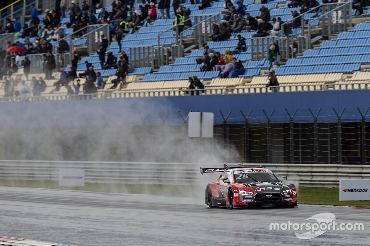 Duval apologises to Audi DTM team after radio outburst