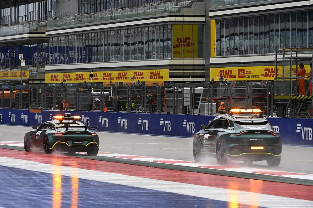 Las mejores imágenes de la llegada de la F1 a Sochi