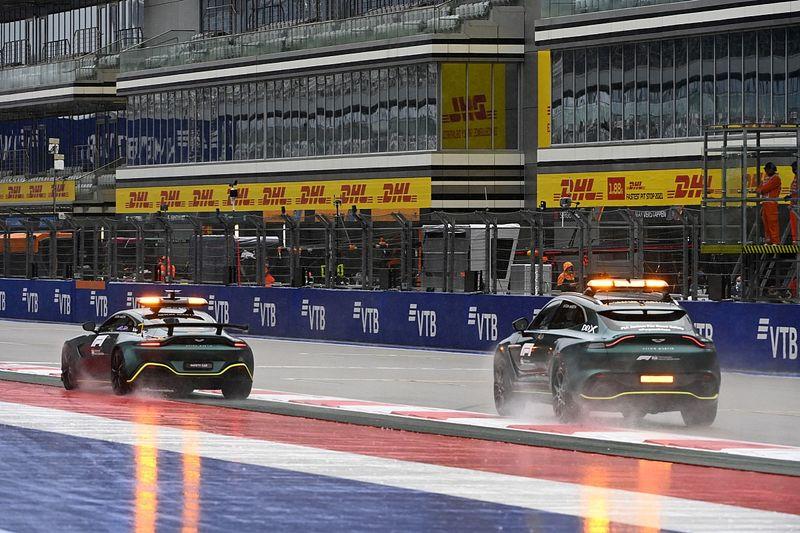 F1 GP Rusia Bersiap Hadapi Hujan, Race F3 Dimajukan
