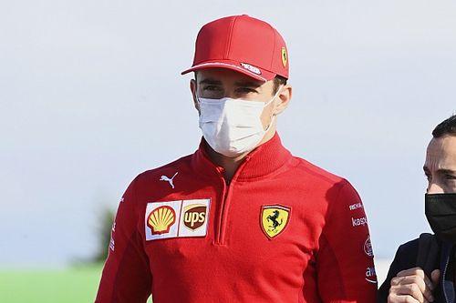A Ferrari is köszöntötte a ma 24 éves Leclerc-t