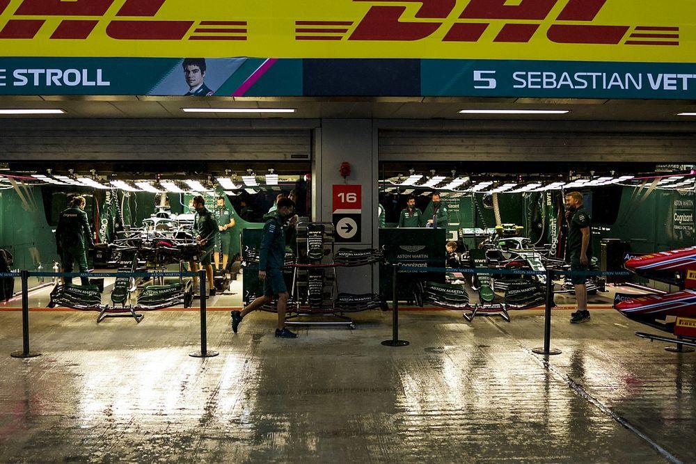Rusya GP 3. antrenman: Seans yoğun yağmur nedeniyle iptal edildi