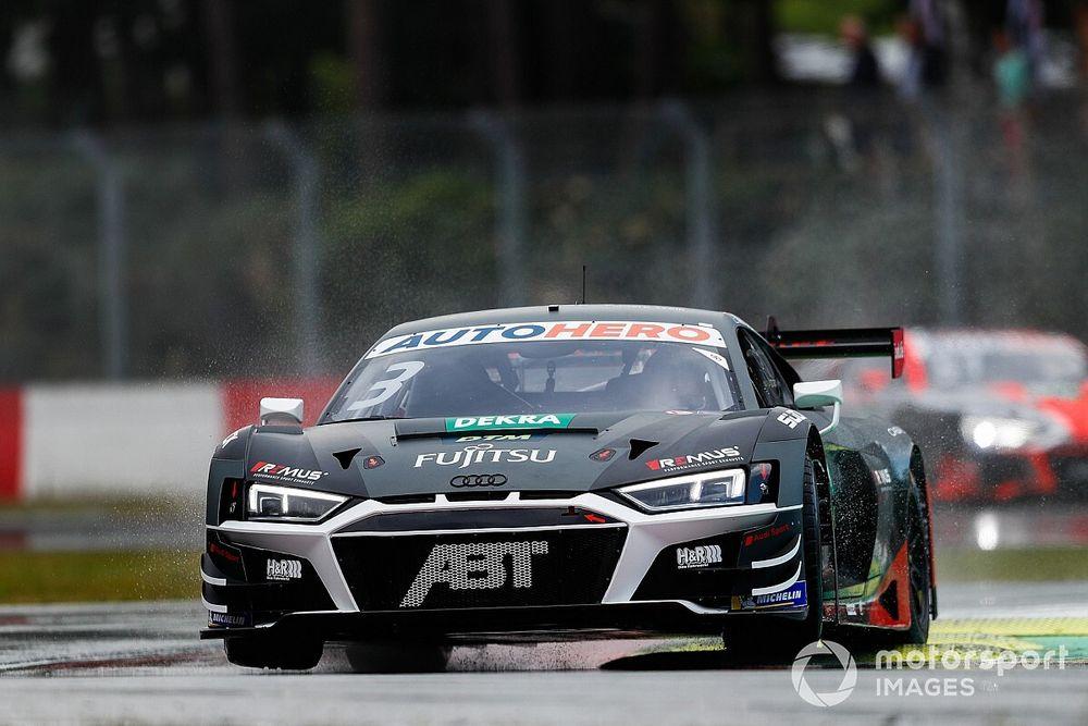 Zolder DTM: Van der Linde claims pole for Audi in first qualifying