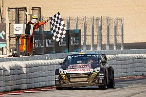 Spain WRX: Kevin Hansen beats brother Timmy in Barcelona