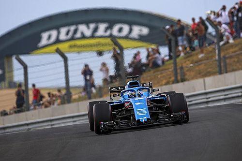 Видео: Алонсо проехал на машине Ф1 по трассе в Ле-Мане