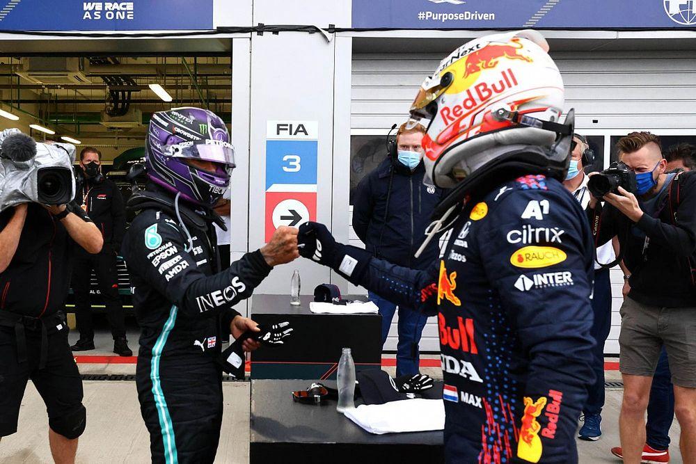 「フェルスタッペンの2位は、勝利みたいなモノ」レッドブル、ロシアGPの結果を喜ぶ
