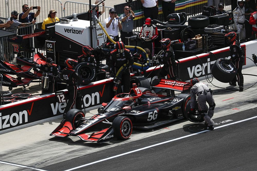 """Power: """"Flawless"""" Penske IndyCar team has """"done the job and I haven't"""""""