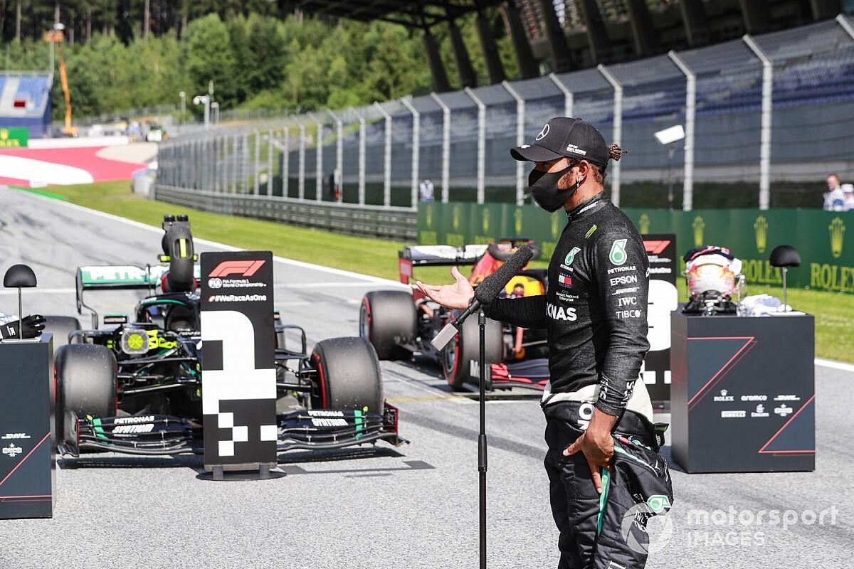 Képekben Hamilton pályafutása 85. F1-es győzelme