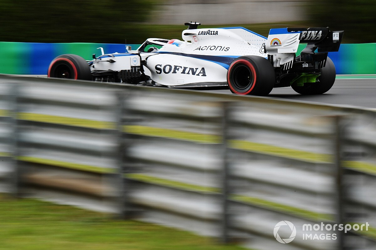 Hihetetlen, amit Russell művel a Williams autójával