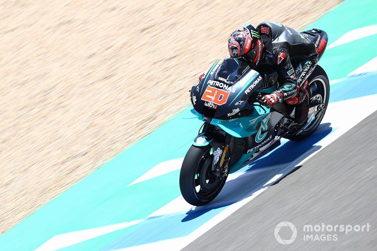 """MotoGP: Quartararo não acredita que Yamaha seja a """"moto a ser batida"""" em Jerez"""