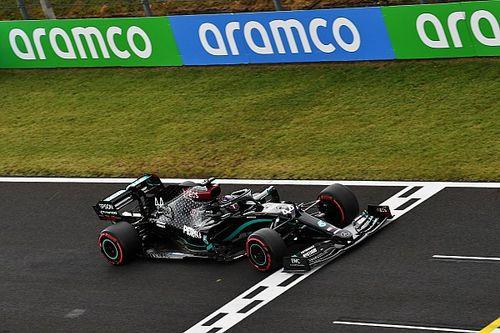 Mercedes kon Hamilton niet helpen bij start vanwege radioregels