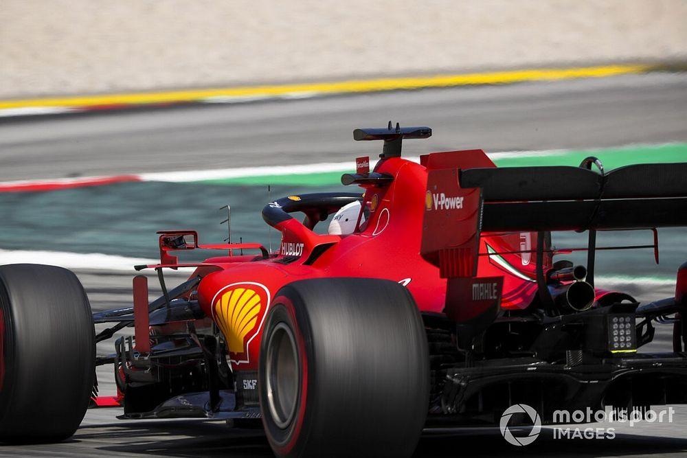 El mérito del cuidado de los neumáticos del Ferrari es de sus pilotos