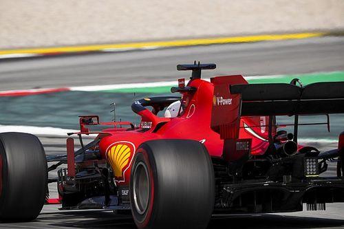 Ferrari con mejoras aerodinámicas para Bélgica