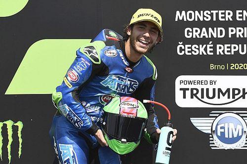 Bastianini subirá a MotoGP en 2021 en la plaza de Zarco en el Avintia