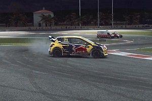 Geen succes voor Leclerc in WRX Esports, Van Gisbergen wint