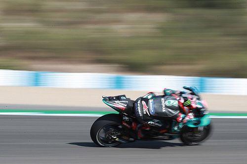 WK-stand na de MotoGP Grand Prix van Andalusië