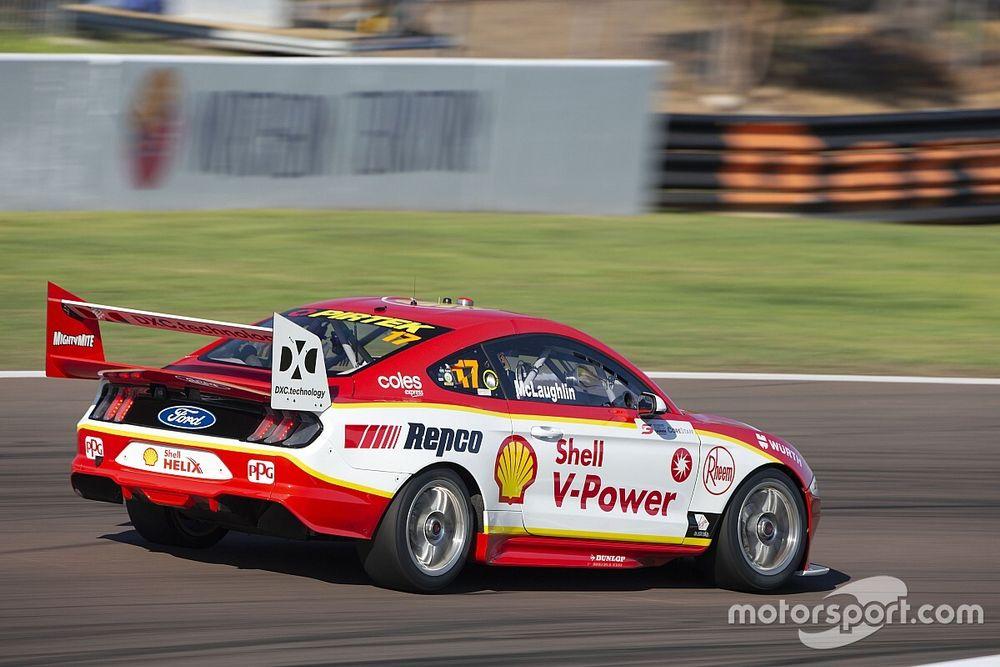 Darwin Supercars: McLaughlin takes 50th career win