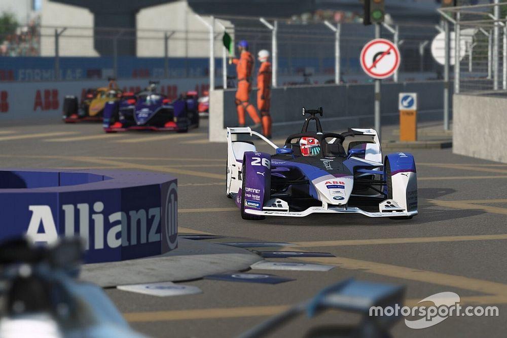 Гюнтер на BMW подтвердил звание лучшего игрока Формулы Е во второй кибергонке