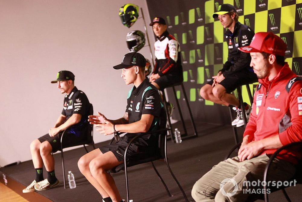 """MotoGP riders """"worried"""" about Perez's COVID positive"""