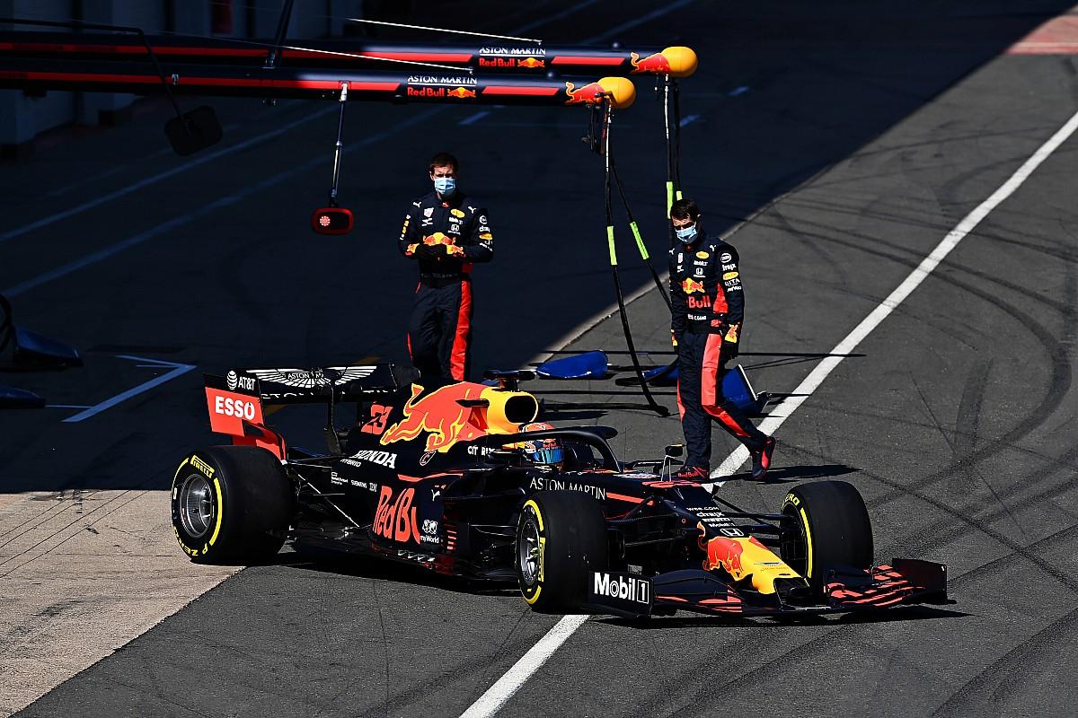 Red Bull a testé de nouveaux éléments à Silverstone