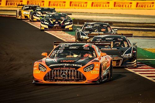 Смотрите прямо сейчас: гонка GT в Барселоне
