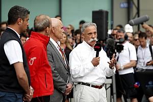 كاري يعتذر لمتابعي الفورمولا واحد بعد إلغاء جولة أستراليا الافتتاحية