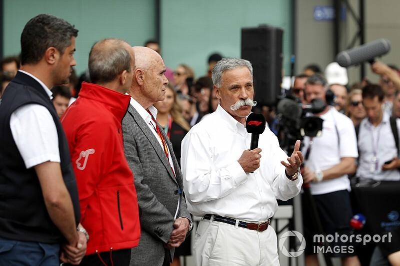 """La F1 tomó la """"decisión correcta"""" al viajar a Australia, dice Carey"""
