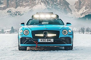 Bentley Continental GT fabricado para correr en hielo (con vídeo)