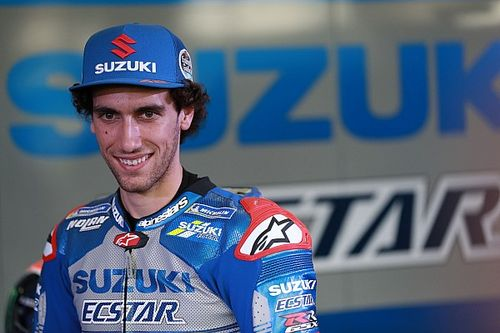 Rins signs fresh two-year Suzuki MotoGP deal