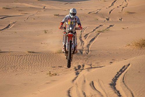 Dakar, Moto, Tappa 2: sorpresa Branch, Sunderland nuovo leader