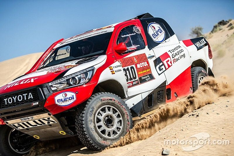 """Alonso """"on tiptoes"""" in first stages of Dakar debut"""