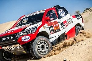 "Alonso ""on tiptoes"" in first stages of Dakar debut"