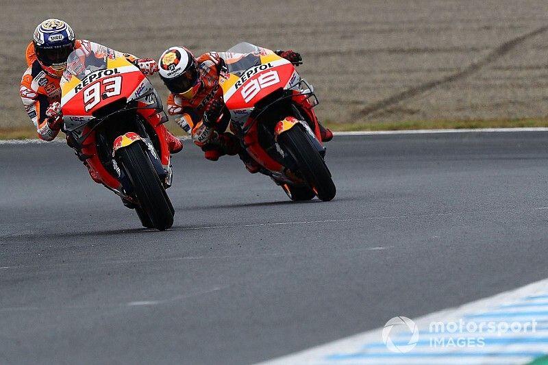 """Lorenzo: """"No sé si es posible que Honda haga una moto para Márquez y otra para mí"""""""