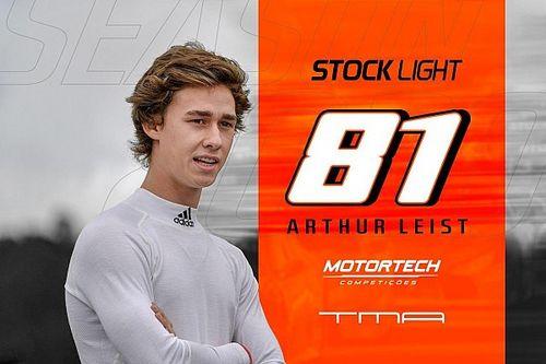 Arthur Leist 'volta' dos EUA e correrá na Stock Light em 2020