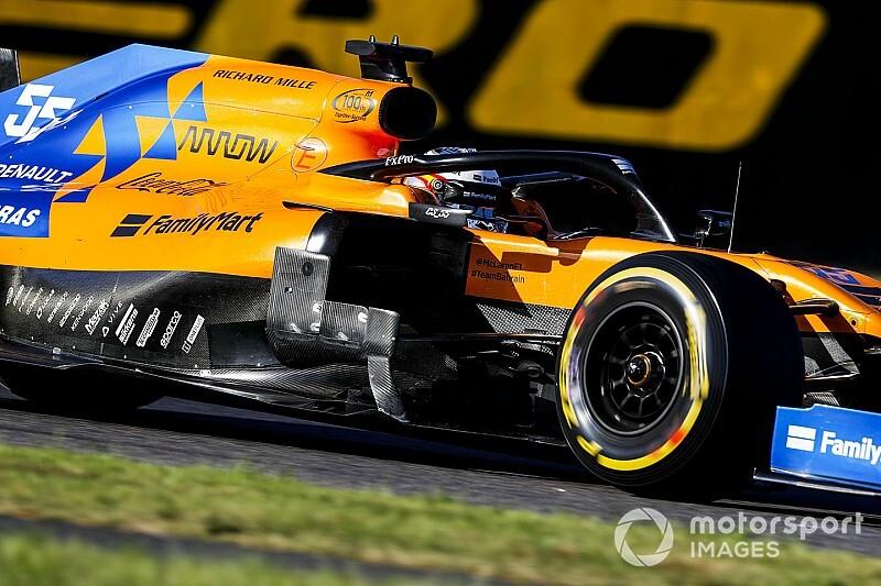 """McLaren, encantado con la """"sensacional"""" carrera de Sainz en Japón"""