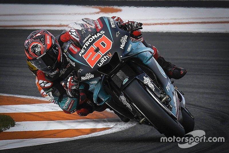 Quartararo: pas de Yamaha 2020 au test, mais des essais de réglages