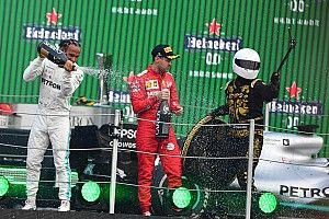 "Vettel no fan of ""shitty"" F1 trophies or Mexico's ""selfie guy"""