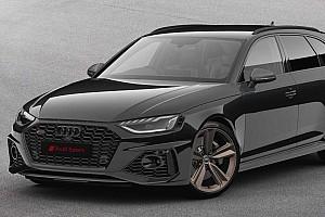 Nagyon szigorú megjelenést kapott az Audi RS4 Avant Bronze Edition