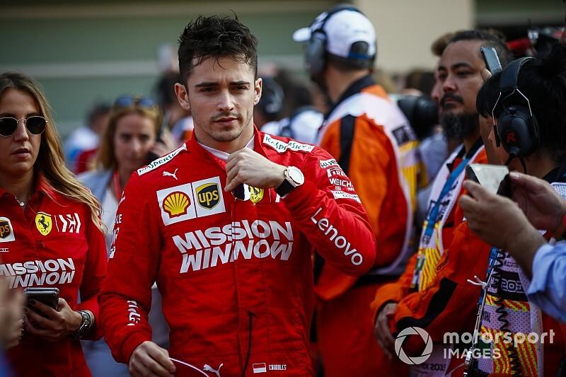 Brutális motort kapott Leclerc: videó