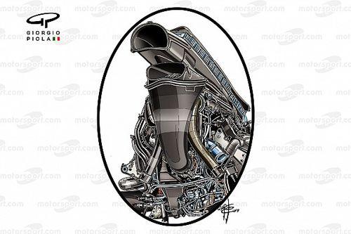 今季3勝……レッドブルRB15はホンダPUをどう内包した? 空力性能にも寄与