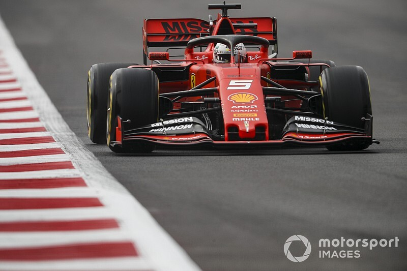 Mexican GP: Vettel tops FP2 from Verstappen